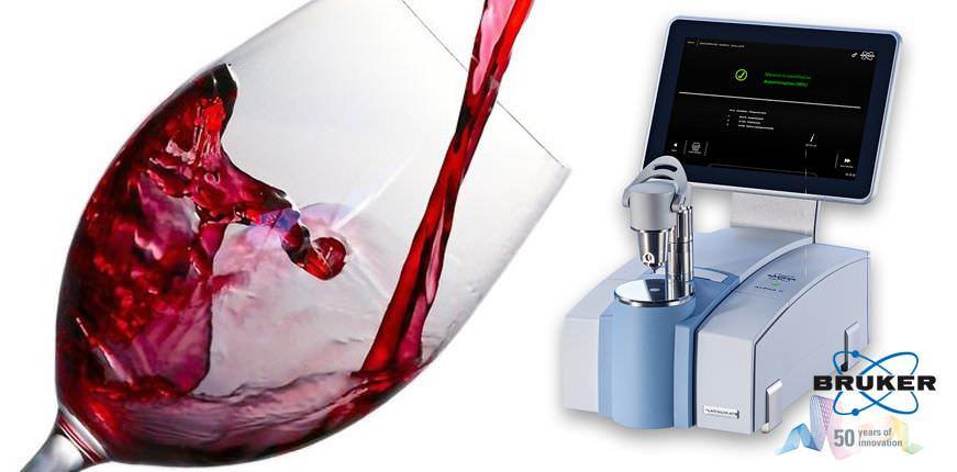 Анализ вина с помощью ИК-Фурье спектрометра