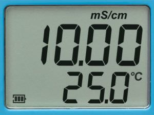 HI98304 DIST 4 ВОДОНЕПРОНИЦАЕМЫЙ ТЕСТЕР EC (0,00-20,00 МС/СМ)