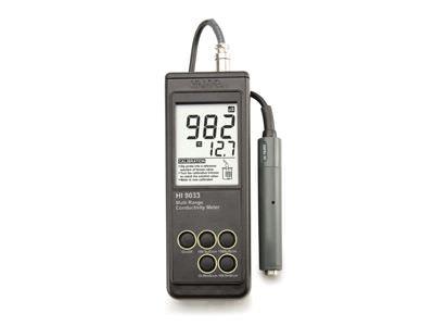 HEAVY DUTY WATERPROOF PORTABLE CONDUCTIVITY METER HI9033