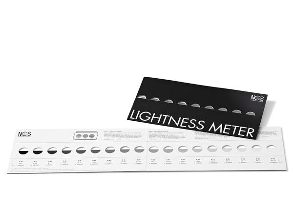 Линейка NCS Lightness Meter