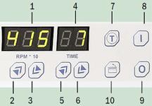 Центрифуги с электронным цифровым управлением, серия BL (SELECTA)