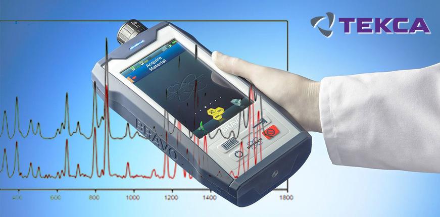 Рамановский спектрометр BRAVO для анализа сырья и продукции