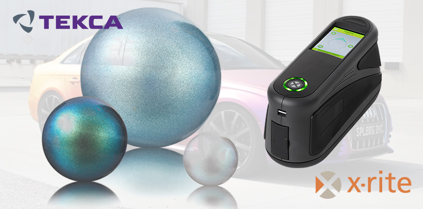 Многоугловые спектрофотометры MA-T от X-Rite для контроля цвета покрытий с эффектами
