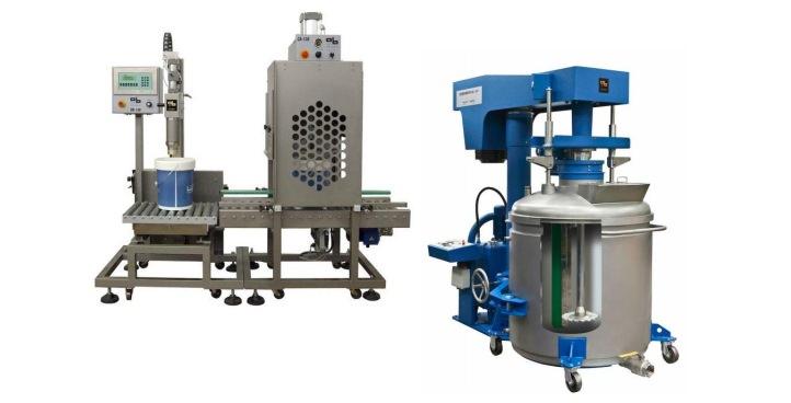 Оборудование для производства ЛКМ и ССС