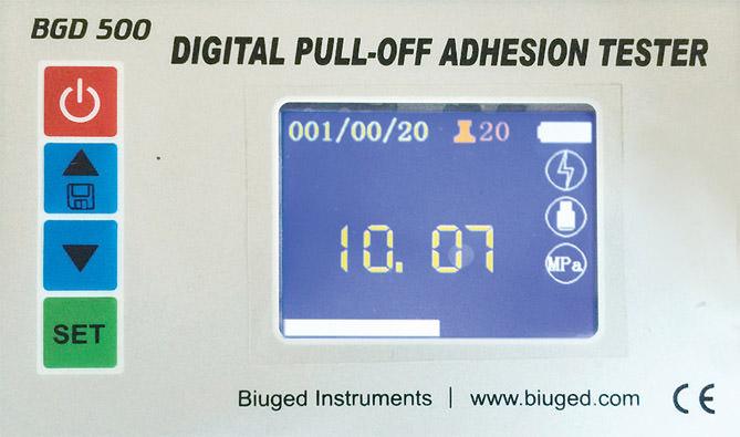 Цифровой адгезиметр на отрыв BGD 500