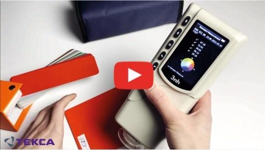 Видеообзоры на приборы для контроля цветовых параметров от компании 3nh