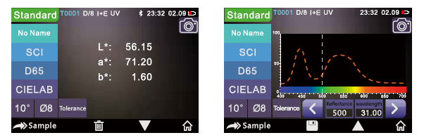 Портативный спектрофотометр YS3020, 3nh