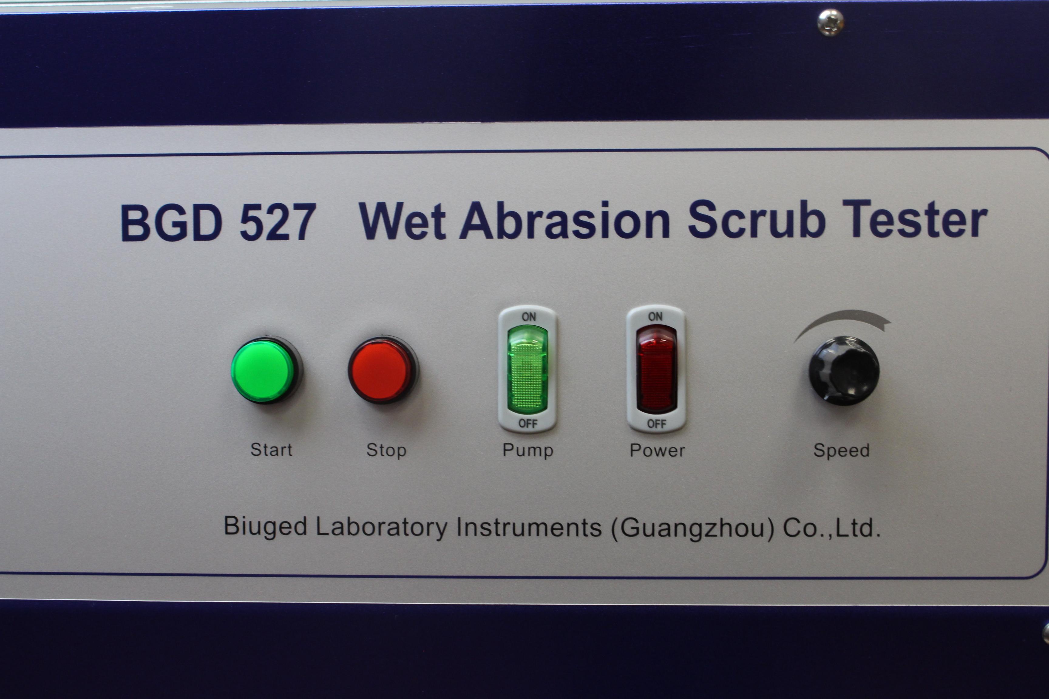 Прибор для испытания на стойкость к мокрому истиранию BGD 526 и 527